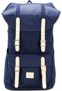 Herschel Supply Co. Contrast Buckle Backpack - Azul