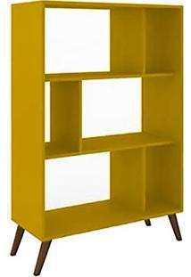 Estante Livreiro Rt 3015 Amarelo - Móvel Bento