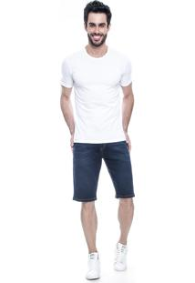 Bermuda Jeans Lemier Collection Basic Azul