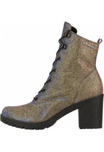 Bota Barth Shoes Wind Feminina - Feminino-Dourado