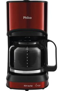 Cafeteira Inox Red Philco 127V Pcf41