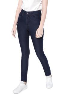 Calça Jeans Calvin Klein Jegging Básica Azul-Marinho