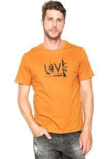 Camiseta Cavalera Love Amarelo
