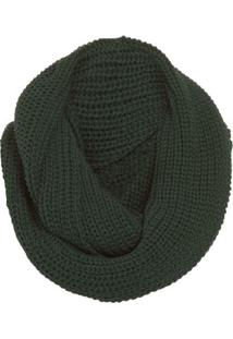 Cachecol Tricot Circular Mob - Verde