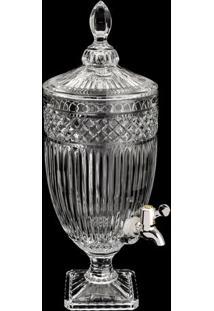 Dispenser Texturizado Persa- Cristal- 4,5L- Lyorlyor