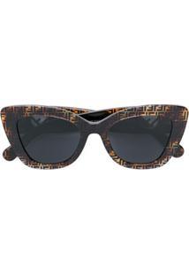 3465751c0aa33 R  2283,00. Farfetch Fendi Eyewear Óculos De Sol ...