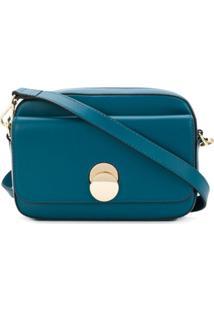 Tila March Bolsa Transversal 'Karlie' Mini De Couro - Azul
