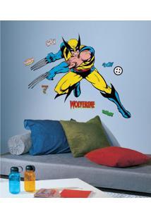 Adesivo De Parede Wolverine X-Men Cartoon Gigante