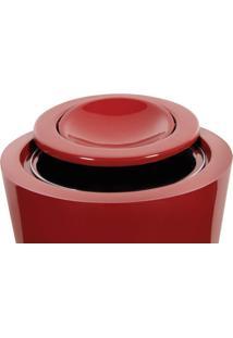Lixeira Multiuso 50L Fibra De Vidro Astra Vermelho