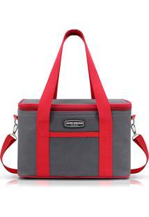 Bolsa Térmica Com Alça Jacki Design Ahl16020 Vermelha