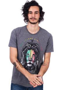 Camiseta Long Island Leão Masculina - Masculino