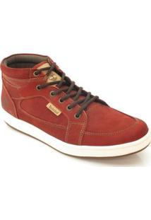 Bota Timberland Ek Packer Leather Chukka - Masculino-Vermelho