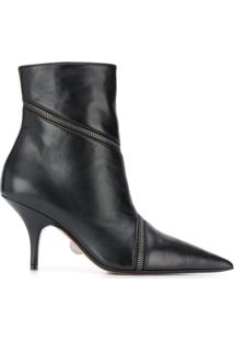 Samuele Failli Zip-Around Ankle Boots - Preto