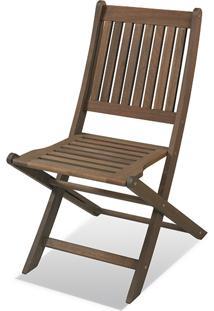 Cadeira Dobrã¡Vel - Nogueira