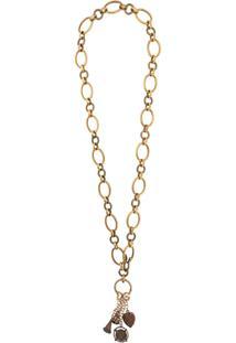 Dolce & Gabbana Colar Com Pingente - Dourado