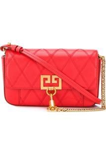 Givenchy Bolsa Mini Com Bolso - Vermelho