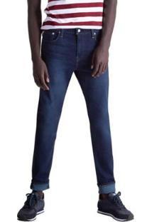 Calça Jeans Levis 512 Slim Taper Masculina - Masculino-Azul