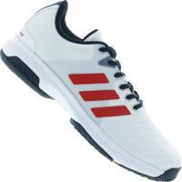 Tênis Adidas Barricade Court Oc - Masculino - Branco Vermelho Centauro 60cf0d1b13ff8