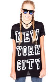 Blusa Marina&Gabriella New York City Preto