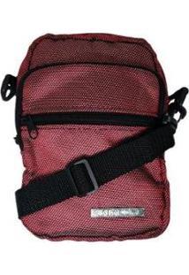 Bolsa Shoulder Bag Ktron Comp - Unissex-Vermelho Escuro