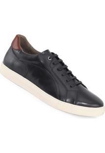 Sapatênis Meu Sapato Siena Masculino - Masculino-Preto