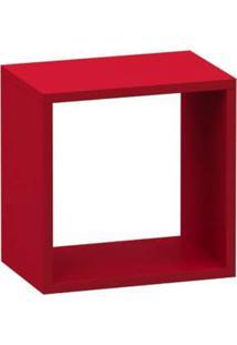 Nicho Quadrado Vermelho - Vermelho - Feminino - Dafiti