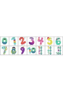 Adesivo De Parede Números (1M X 0,29M)