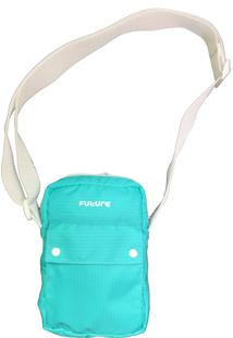 Bolsa Future Skateboards Side Bag Tirocolo Outfit Verde