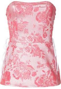 Manning Cartell Bustier 'Kyoto Calling' - Rosa