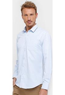 Camisa Social Broken Rules Textura Masculina - Masculino