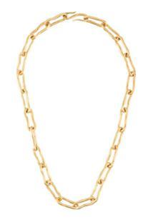 Marlene Juhl Jorgensen Karge Flow Necklace - Dourado