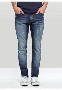 Calça Jeans Masculina Hering Na Modelagem Skinny