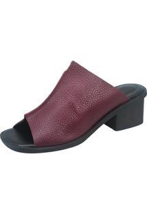 Sandália S2 Shoes Andressa Grená Vinho