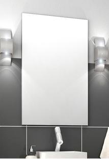 Espelheira Para Banheiro Malta/Firenze Branca Bosi