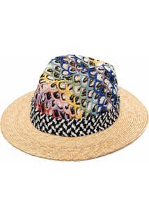 Missoni Mare Chapéu Com Bordado - Neutro