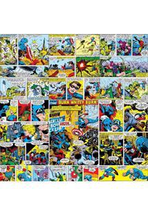 Papel De Parede Adesivo Comics Marvel (0,58M X 2,50M)