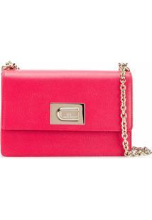 Furla Fuoco H Shoulder Bag - Vermelho