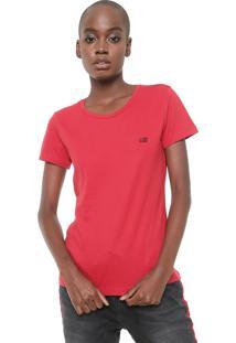 Camiseta Ellus 2Nd Floor Co Basic Esf Vermelha