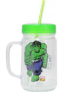 Caneca Pote Hulk Geek10 Verde