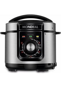 Panela De Pressão Elétrica Mondial Pratic Cook Premium Pe-48-5L-I Preta 5L - 220V