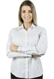Camisa Pimenta Rosada Peace Top - Feminino-Branco