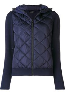 Canada Goose Quilted Bomber Jacket - Azul