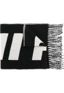 Ami Alexandre Mattiussi Echarpe Com Logo - Preto