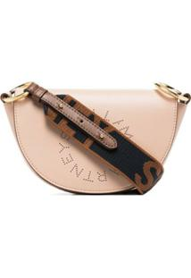 Stella Mccartney Bolsa Stella Logo Mini - Rosa