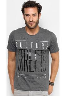 Camiseta Kohmar Gola Careca Culture Masculina - Masculino