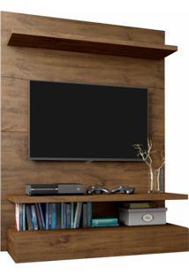Painel Para Tv Pa13 100% Mdf 90 Cm Cor Nobre - 29873 - Sun House