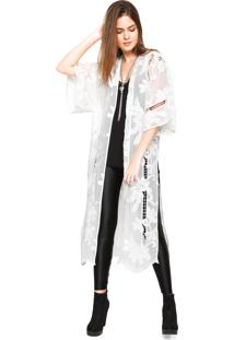 Kimono Colcci Bordado Branco