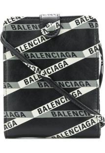 Balenciaga Carteira De Couro - Preto