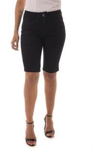 Bermuda Jeans Osmoze Mid Rise Middle Plus Feminino - Feminino