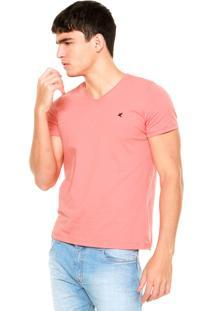 Camiseta Malwee Bordado Coral